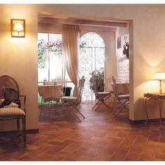 Porch? (Front or back)? Quintana Spada Red Porcelain Tile - 6in. x 12in. - 100066315 | Floor and Decor