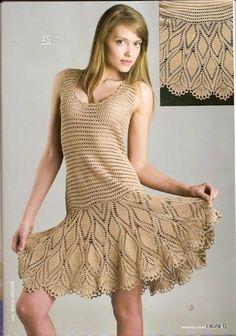 Etsy の 注文の夏のかぎ針編みドレス RI32 by CottonMystery                                                                                                                                                     もっと見る
