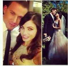 Channing Tatum Wife Wedding Dress