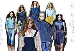 Today I'm Wearing 59 Denim Trends, Work Wardrobe, Ss 15, Personal Stylist, Catwalk, Stylists, How To Wear, Outfits