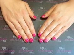 Clients love their #gelish pinks