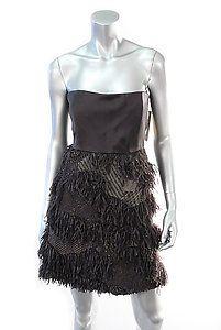 ALICE + OLIVIA PRISCILLA BUSTIER DRESS Size 12  Retail: $495  PlushAttire.Com Price: $169  #fashion