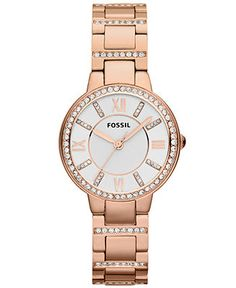 Fossil Watch, Women's Virginia Rose Gold