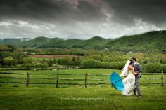 storms on our wedding day