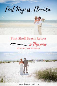 Affordable destination wedding in Fort Myers, Florida at Pink Shell Beach Resort & Marina. Beach Honeymoon Destinations, Destination Wedding Locations, Beach Resorts, Travel Destinations, Wedding Venues, Wedding Destinations, Wedding Themes, Beach Wedding Decorations, Beach Weddings