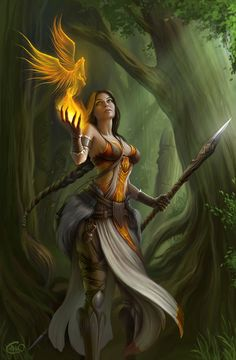 priestess by ~aneteya on deviantART