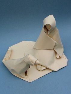 原创手工博文: 折纸艺术家Dinh Truong Giang湿折法折纸作品欣赏- 手工客 , 手工创意人的工作和生活社区
