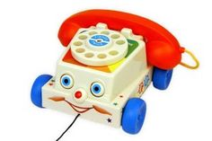 fisher price chatter phone oude speelkamer 300x200 De Oude Speelkamer
