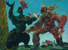 The Barbarians Surrealism         By Max Ernst