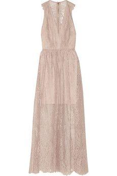 Alice   Olivia Julissa lace maxi dress | THE OUTNET