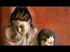 ▶ Pablo Picasso - Periodo Rosa - Música Manuel de Falla - YouTube