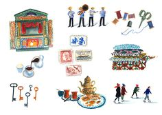 The little pleasures of Paris - About Today - Illustration by Lizzy Stewart
