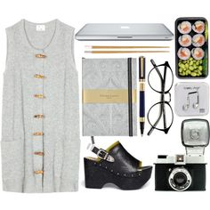 Sushi by jmtothemusic on Polyvore featuring moda, Acne Studios, Toga, Typhoon, fred flare and Happy Plugs