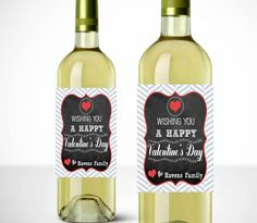 custom drunk in love with you printable wine label valentines day wine label spouse gift custom wine label anniversary wine label gift pinterest