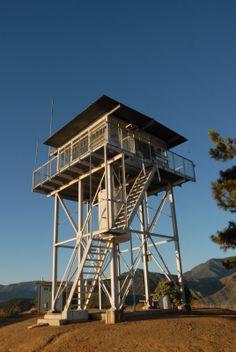 Amazing Metal Fire Tower In Acadia Natu0027l Park