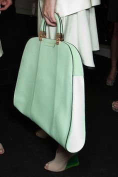 love this shade of mint | Emporio Armani