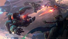 """""""Overwatch"""" by Xiaoyu Wang, concept artist #Gaming #VideoGames #Art #FanArt #VideoGameArt #GamesArt #Overwatch #Blizzard #FPS #FirstPersonShooter #HeroShooter #ArtStation"""