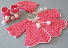 Picture of Ripple Layette Crochet Pattern