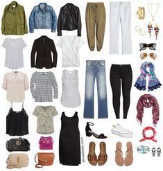 Plus Size Spring Casual Capsule Wardrobe – Part 2 - with an essential list of plus size spring clothing - 16 pieces with countless outfits - Alexa Webb