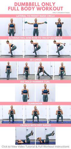 Dumbbell Only Full Body Workout