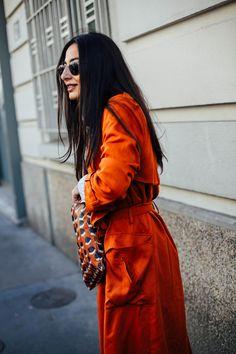 Street Style en Paris Fashion Week, octubre 2015 © Icíar J. Carrasco