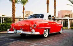 Chrysler Saratoga, back view, 1950 cars, retro cars, R, 1950 Chrysler Saratoga, HD wallpaper