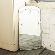 love love old etched mirrors