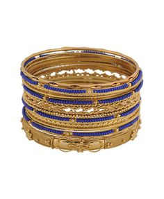 Shop for Beaded Bangle Set by Forever 21 at ShopStyle. Indian Fashion, Womens Fashion, Style Fashion, Bangle Set, Forever 21, Shoe Bag, My Style, Bracelets, Leather