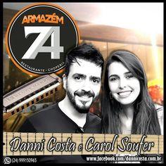 SEXTA FEIRA, 04/03, tem música ao vivo com Danni Costa e Carol Soufer no Armazém 74 (Monte Castelo/VR) a partir das 21h. . . #DanniCostaeCarolSoufer #MusicaAoVivo #Músicos #Armazém74...