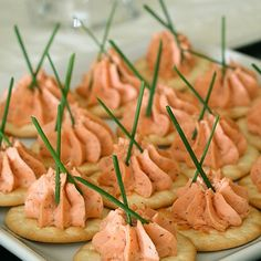 Salmon Mousse Recipe Appetizers, Lunch and Snacks, Side Dishes with smoked salmon, cream cheese, dried dillweed, ground black pepper, garlic