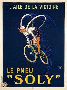 Le pneu Soly, l'aile de la victoire- ( Mich) -