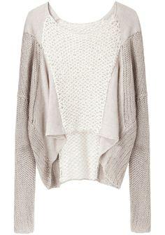 Helmut Lang linen sweater