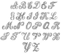 Free Fancy Letters of the Alphabet   :: Image 10