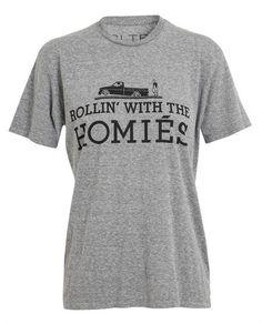 BRIAN LICHTENBERG Unisex: Homies Cotton T-Shirt