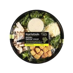 Marketside Chicken Caesar Salad, 14.5 oz Walmart.com (265 RUB) ❤ liked on Polyvore featuring food and food and drink