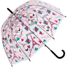Kung Fu Smith Auto Open Transparent Bubble Eiffel Print POE Umbrella >>> To view further for this item, visit the image link.