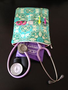 NURSE PURSE stethoscope bag & BP case