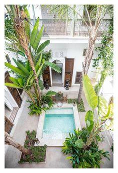 A dreamy Riad courtyard