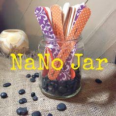 Apron Warrior: NaNo Prep: The NaNo Jar