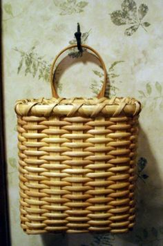 bike gear basket - Bev's Handwoven Baskets