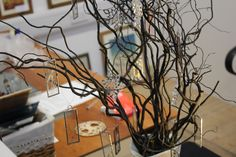 Carly Mann's glasswork decorations on  sale at our Open Studios. Find us behind Eastleigh post office.