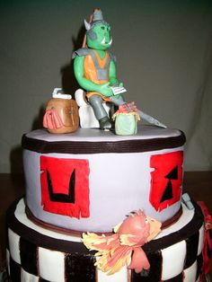 Warhammer Cake.