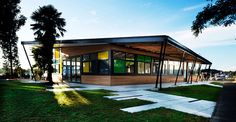 'Whenuapai Primary School' admin building in Auckland: http://www.playmagazine.info/whenuapai-primary-school-admin-building-in-auckland/