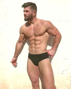 41bfc5c263 Black Underwear, Men's Swimsuits, Muscle Boy, Gays, Men Looks, Swimwear  Fashion