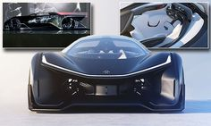 Faraday Future unveils the 'Tesla killer' FFZero1 car during CES 2016 in Las Vegas #carswithoutlimits