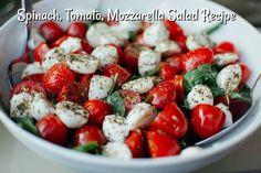 Tomato and Mozzarella Salad: A Recipe for Italian Sa Tomate-Mozzarella-Salat: Ein Rezept für den italienischen Salat – Utopia.de Tomato and mozzarella salad: a recipe for the Italian salad - Salada Caprese, Caprese Salad, Food Salad, Healthy Soup Recipes, Salad Recipes, Healthy Foods, Fit Foods, Protein Foods, Healthy Chicken