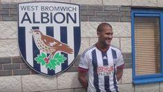 Video: Salomón Rondón y su primera entrevista con Bromwich