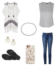 Maryland by destinyl734 on Polyvore featuring polyvore fashion style Topshop Tory Burch Paige Denim Havaianas Belpearl Sterling Essentials Casetify clothing