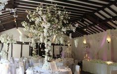 Essential Couture create gorgeous floral centrepieces