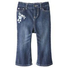 Genuine Kids from OshKosh ™ Infant Toddler Girls' Jeans - Dark Blue